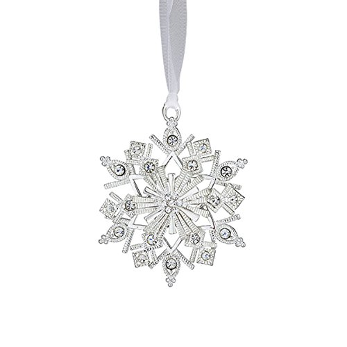 The Classic Reed & Barton® Crystal Snowflake Ornament