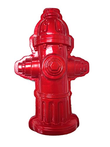 Large Red Fire Hydrant Ornament Decoration 11″ x 6.5″