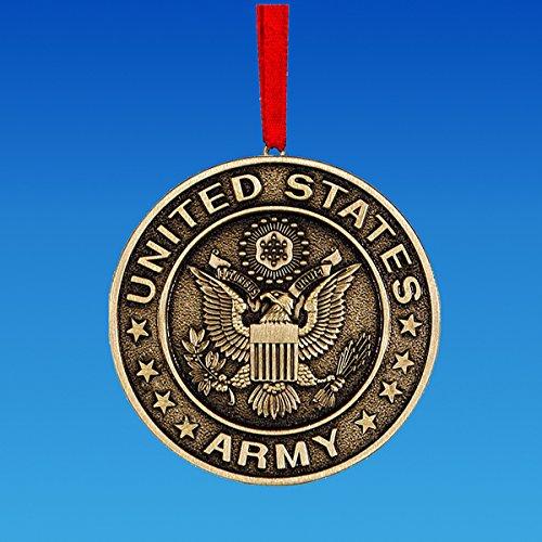 Kurt Adler 3.5″ Metal U.s. Army Ornament