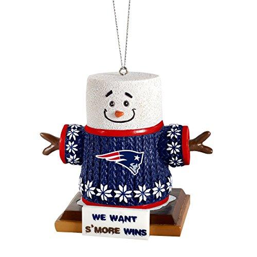 2015 NFL Football Team Logo Smores Holiday Tree Ornament – Pick Team (New England Patriots)