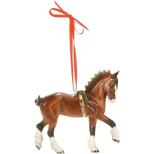 Breyer Clydesdale Beautiful Breeds Ornament – 6th in Series for 2008 by Breyer