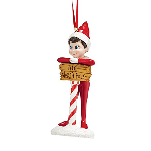Department 56 Elf On The Shelf Elf At North Pole Ornament