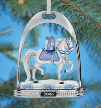 Breyer Snow Princess Stirrup Ornament