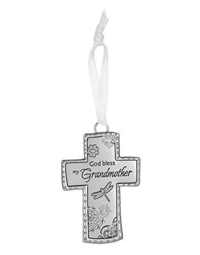 Cross Ornament by Ganz- God bless my Grandmother