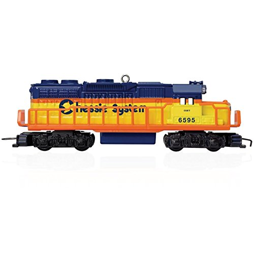 Hallmark QX9047 20 in Series Chessie System Locomotive Ornament