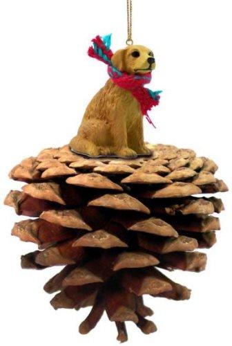 Golden Retriever Dog Pinecone Ornament
