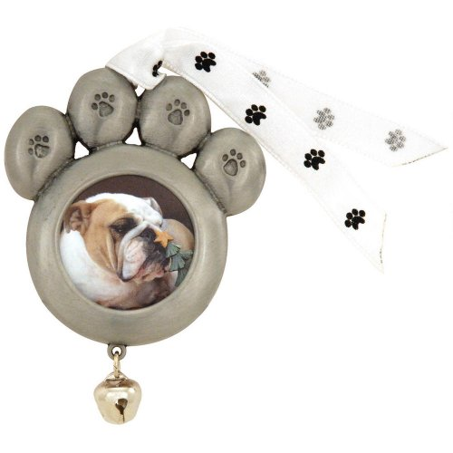 Paw Print Picture Ornament