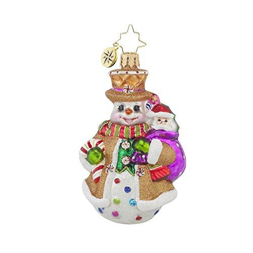 Christopher Radko Waffle Wally Little Gem Christmas Ornament