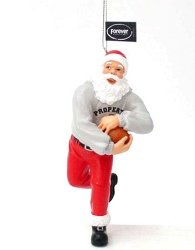 Chicago Bears Santa Claus Christmas Ornament