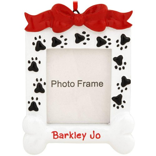 Personalized Dog Frame Ornament