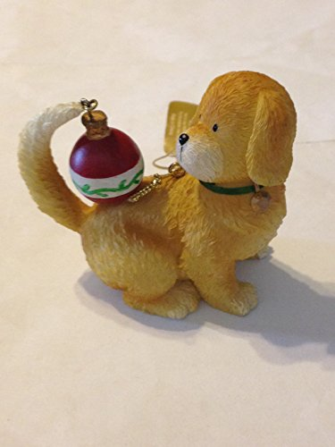 Raz Dog With Christmas Ball Ornament
