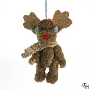 Enesco Boyds Plush 5-Inch Holiday Goodfriends Ornament