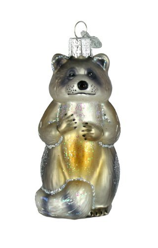 Old World Christmas Ornament Raccoon by Old World Christmas