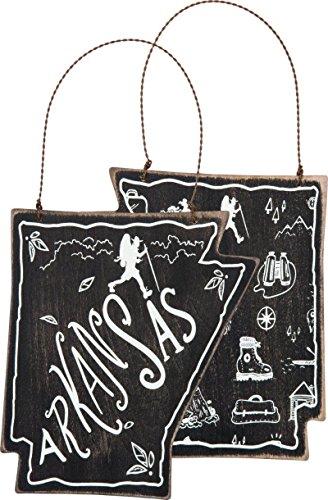 Arkansas Ornament Primitives by Kathy