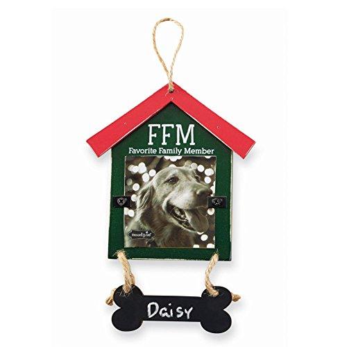 Mud Pie Dog House Chalkboard Ornaments (FFM)