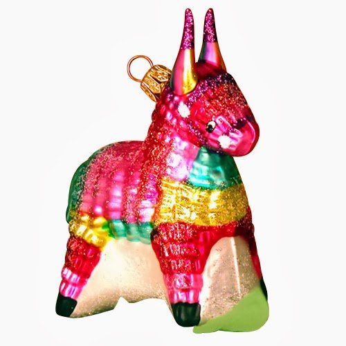 Ornaments to Remember: PIÑATA Christmas Ornament
