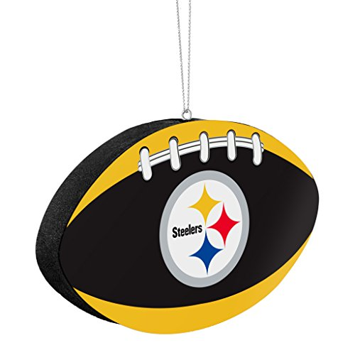 Pittsburgh Steelers Official NFL 4 inch Foam Christmas Ball Ornament by Forever Collectibles 241558