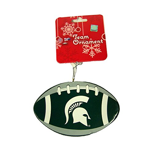 Michigan State Spartans Official NCAA 4 inch Foam Christmas Ball Ornament by Forever Collectibles 002111