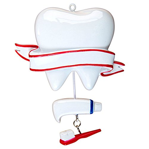 Dentist Personalized Christmas Tree Ornament
