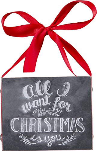 Primitives by Kathy All I Want for Christmas Chalkboard