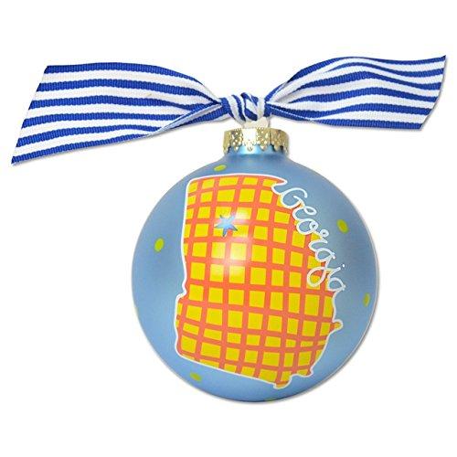 Georgia In A Colorful State Ornament