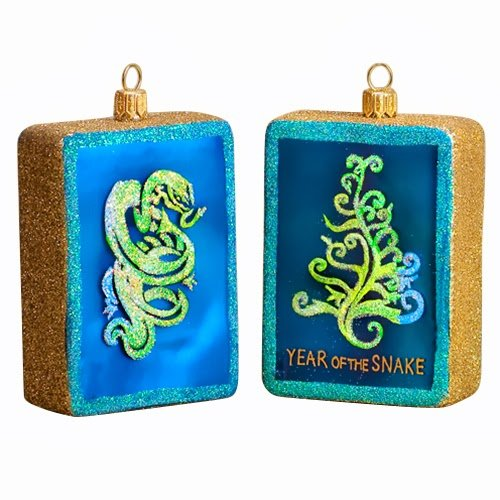 Ornaments to Remember: YEAR OF THE SNAKE (2013) Christmas Ornament