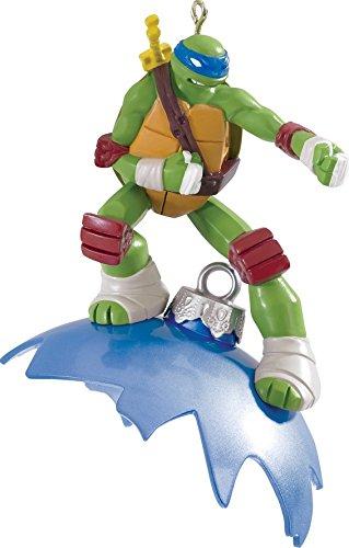 3.25″ Carlton Cards Heirloom Teenage Mutant Ninja Turtles Leonardo Christmas Ornament