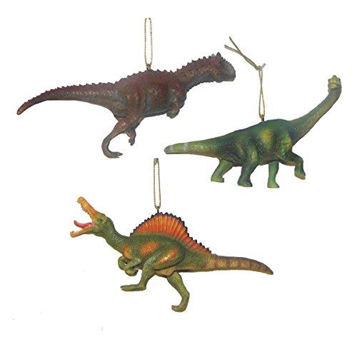 Kurt Adler Dinosaur Ornament Set
