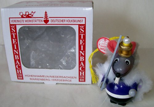 Steinbach Gm Bh Christmas Decorations ,Gifts and Ornaments Handmade in Germany Wooden Mouse King Ornament