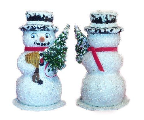 Ino Schaller German Paper Mache Snowman