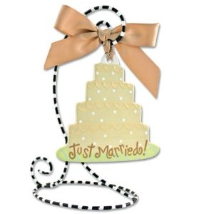 Coton Colors Wedding Cake Pottery Flat Ornament * Kitchen Everyday Décor