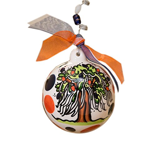 Glory Haus Auburn Ball Ornament, 4-Inch