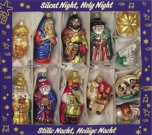 Nativity Assortment, #1-158-03, by Inge-Glas of Germany