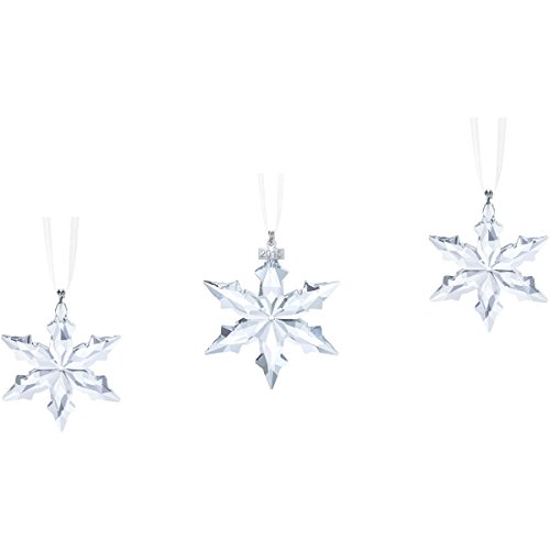 Swarovski 3-Piece Christmas Ornament Set, 2015