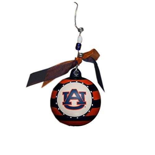 Glory Haus Auburn Stripe Ornament, 4-Inch