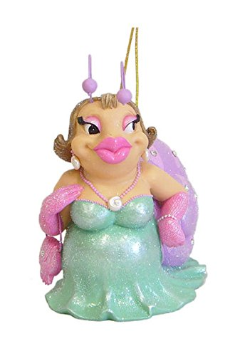 December Diamonds Cute Rosie the Snail Wearing Green Dress with Pink Purse & Long Pink Gloves.Snail Shell is Lavender & Embellished with Clear Sparkling Rhinestones. Gift Boxed, Ready to Hang on a Gold Cord, or She can Sit on Any Table Top.