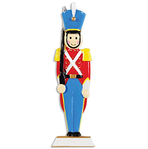 Toy Soldier Personalized Christmas Tree Ornament