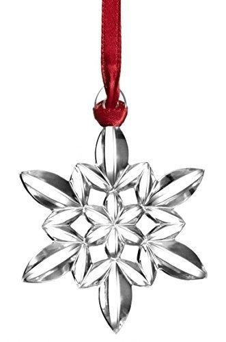 Orrefors 2015 Snowflake Ornament by Orrefors Kosta Boda