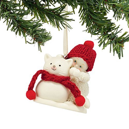 Snowbabies Snowcat Ornament by Department 56
