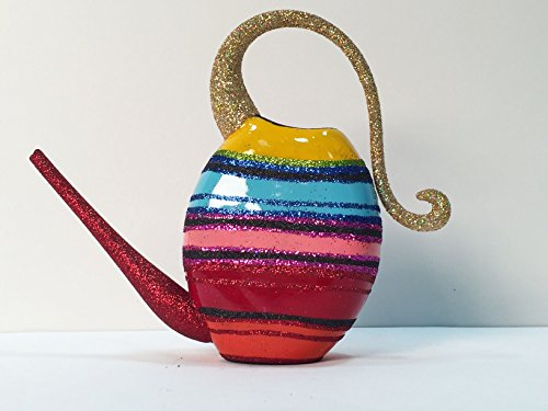 Ornaments to Remember: WATERING CAN (Striped) Christmas Ornament