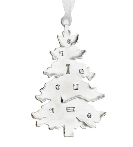 Silver Tree Winter Wonder Silverplated Ornament