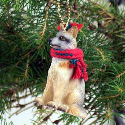 Conversation Concepts Fox Gray Original Ornament