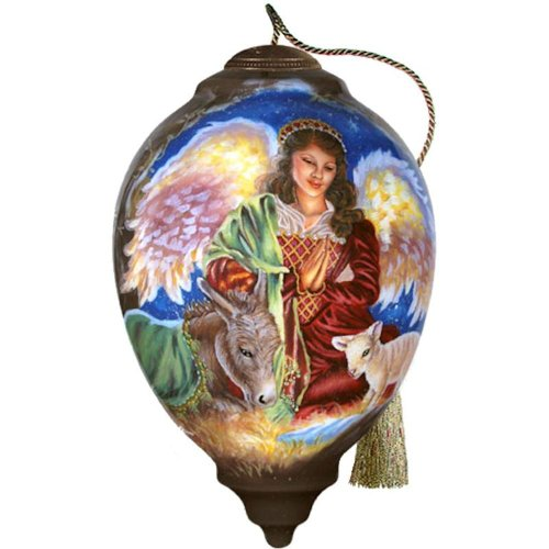 Ne'Qwa Art Glory to the Newborn King Ornament By Artist Dona Gelsinger 697