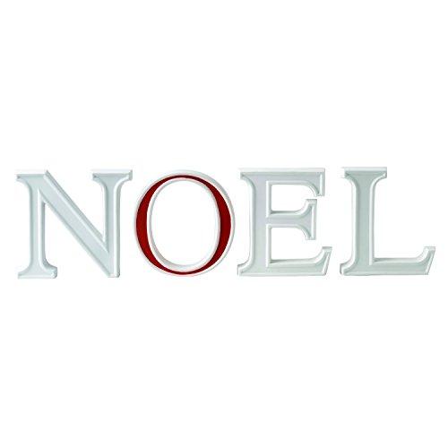 Wedgwood Noel Letters Christmas Ornament, Red