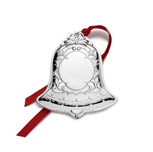 Wallace 3rd Edition Silver Plated Engraveable Bell Ornament