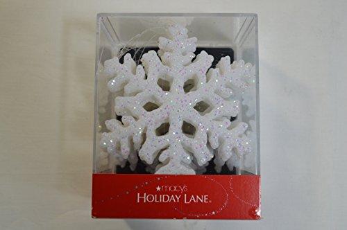 Holiday Lane Box of 12 Snowflake Ornaments