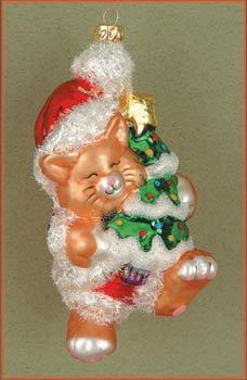 Margaret Cobane Glass Ornament – Kitty's Christmas Gold