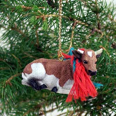 Conversation Concepts Guernsey Bull Original Ornament