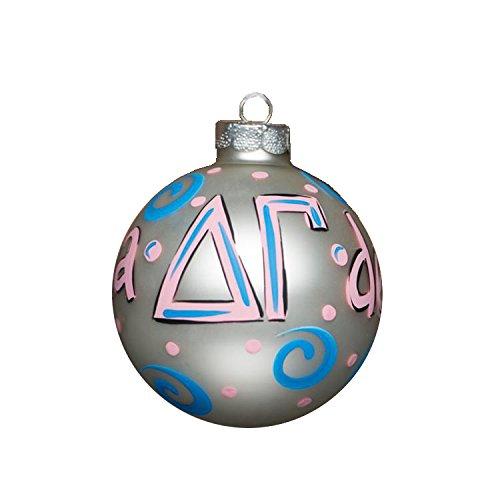 Glory Haus Delta Gamma Glass Ornament, 4-Inch