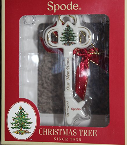 """Spode """"Our New Home"""" Key Ornament – Dated 2015"""